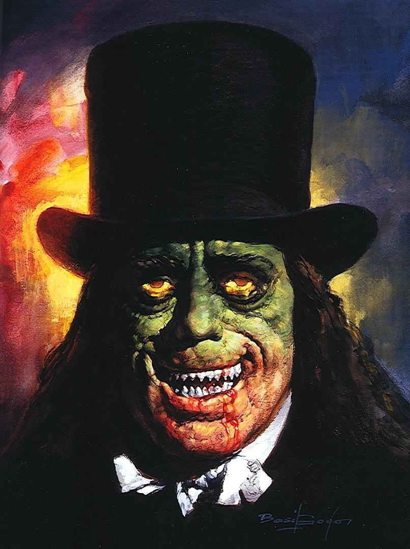 a Basil Gogos color horror illustration