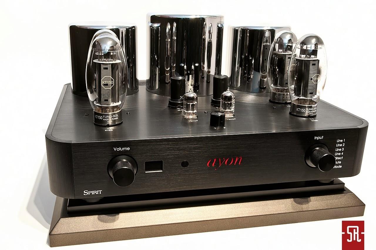 Mono and Stereo High-End Audio Magazine: AYON SPIRIT 3