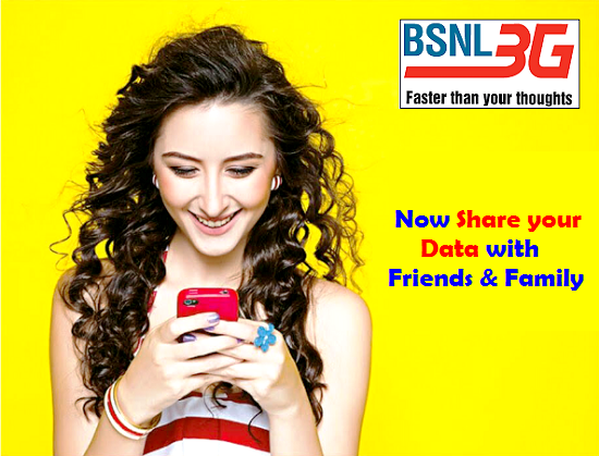 BSNL introduces New Data STVs and Combo Vouchers exclusive for Data Sharing facility for Prepaid Mobile Customers