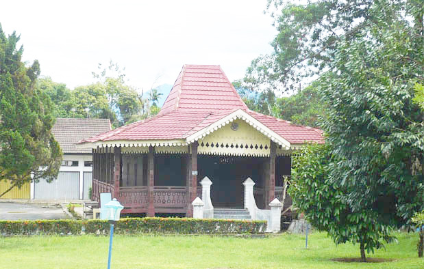 Rumah Bubungan Lima, Rumah Adat Provinsi Bengkulu