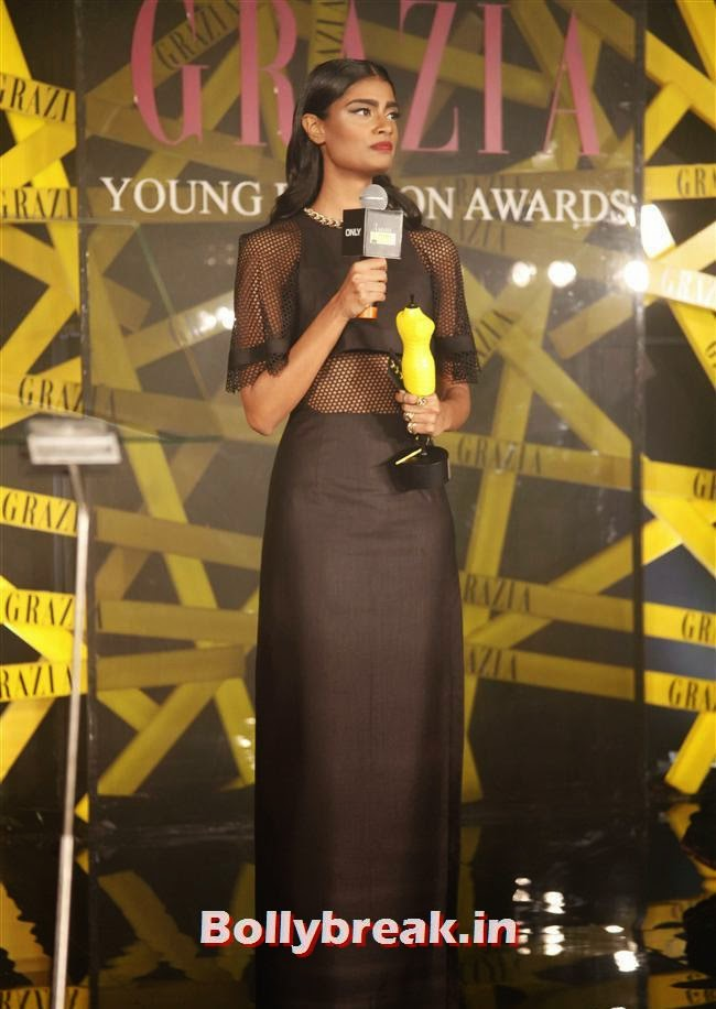 ONLY Model of the Year, Archana Akhil Kumar, Hottest Celebs of Bollywood at Grazia Young Fashion Awards 2014
