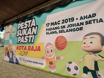 Berakhir Sudah Pesta Sukan Pasti 2019 suakn dwitahunan sukan pasti pasti cawangan anak-anak pasti Pasti kindergarden beza pasti dengan kemas