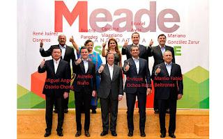 Coordinadores regionales de la campaña de José Antonio Meade