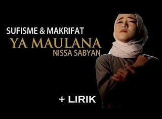 Download Lagu Ya Maulana mp3 mp4 Single Pertama Nissa Sabyan Gambus