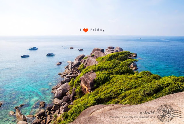 จุดชมวิว หินเรือใบ หมู่เกาะสิมิลัน