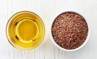 Flax-seed oil - Treatment for dry eyes.