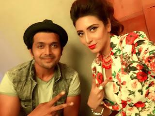 Bidya Sinha Saha Mim With Bangladeshi Actor Arefin Shuvo
