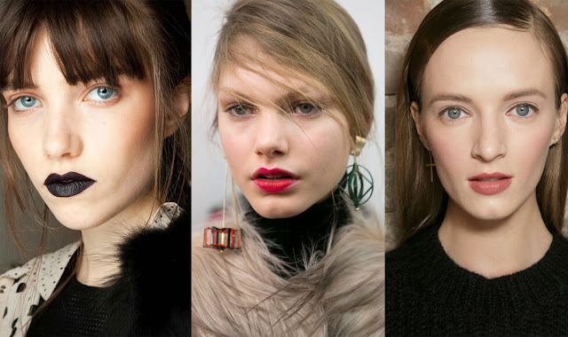 Тренды макияжа губ сезона осень-зима 2015-2016