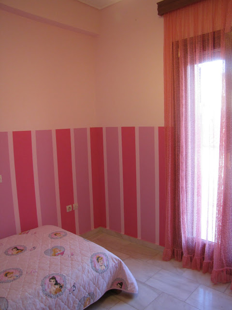 Βάψε μόνος σου ρίγες στον τοίχο του παιδικού δωματίου με τον πιο εύκολο τρόπο