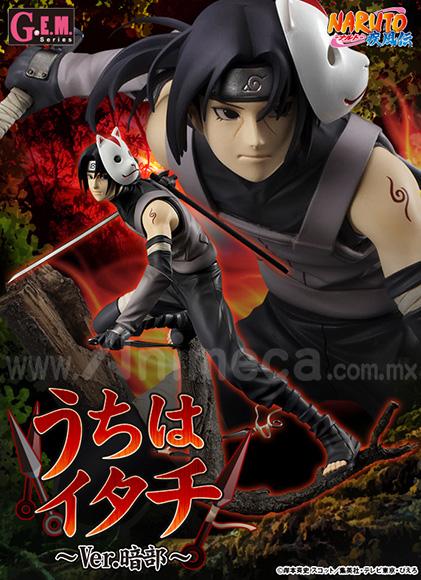 Figura Itachi Uchiha Anbu Ver. G.E.M. Edición Limitada Naruto Shippuden