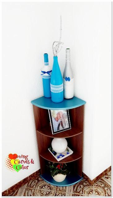 bottles-in-blue-decoration