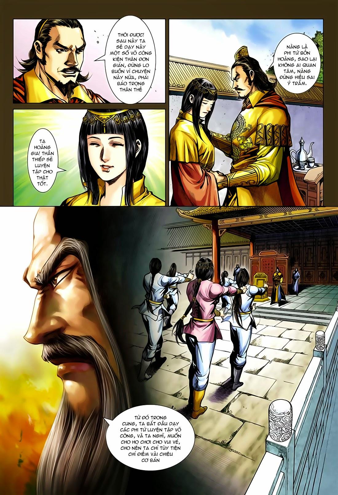 Anh Hùng Xạ Điêu anh hùng xạ đêu chap 75: hoàng thành cựu sự trang 20