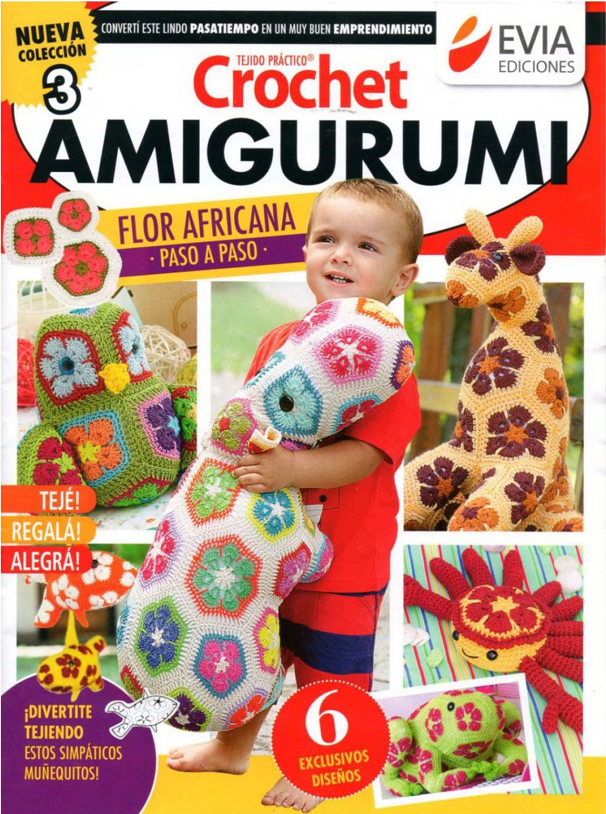 Revista amigurumi 2016 - Revistas de crochet y tejidos gratis