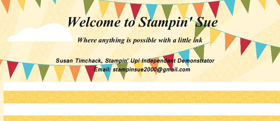 Welcome to Stampin' Sue