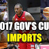 List: 2017 PBA Governor's Cup Imports