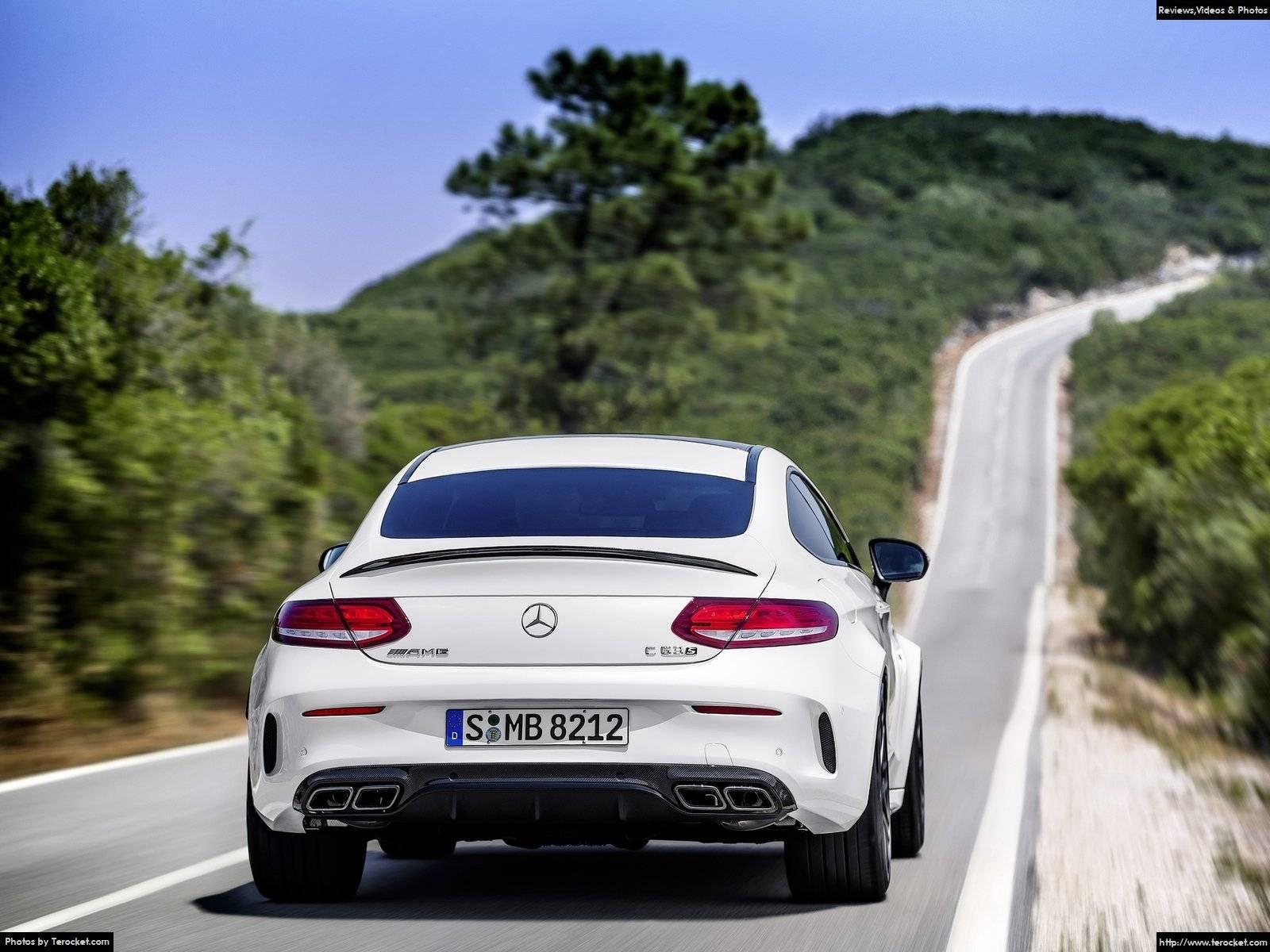 Hình ảnh xe ô tô Mercedes-Benz C63 AMG Coupe 2017 & nội ngoại thất
