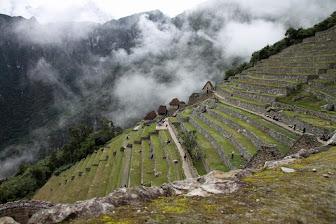Ruins of Machu Picchu, Peru.