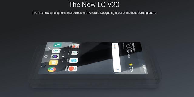 the new lg v20