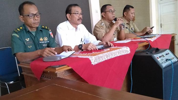 Bati Tuud Koramil 04/Binangun Hadiri Rakor dan Sosialisasi KKN Unsoed Purwokerto