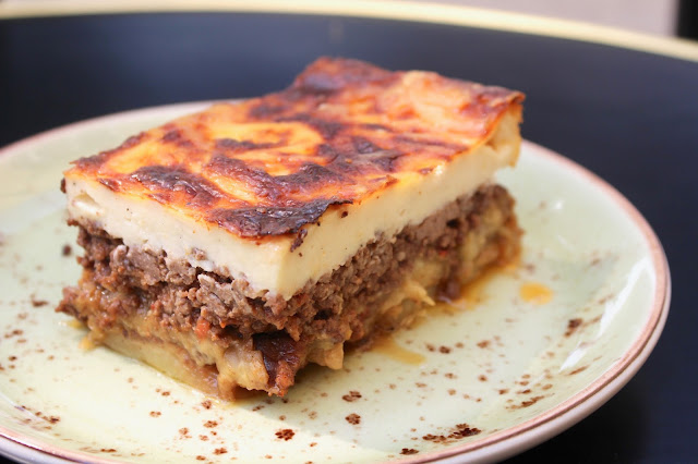 I Had The Best Moussaka Of My Life There It Was Melt In Your Mouth Delicious