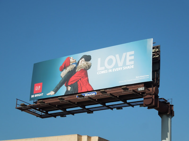 Gap Love comes in every shade billboard