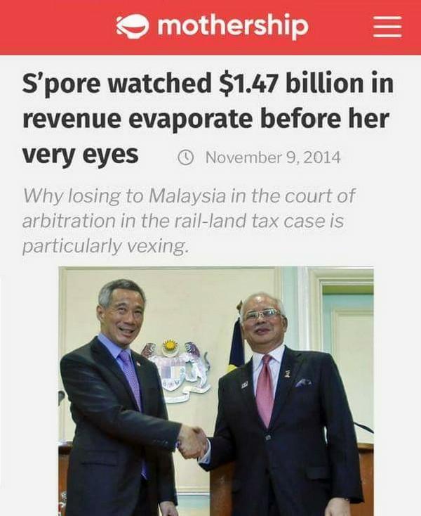 Isu Tanah KTM Di Singapura: Apa Mahacai Mahathir Tidak Tahu