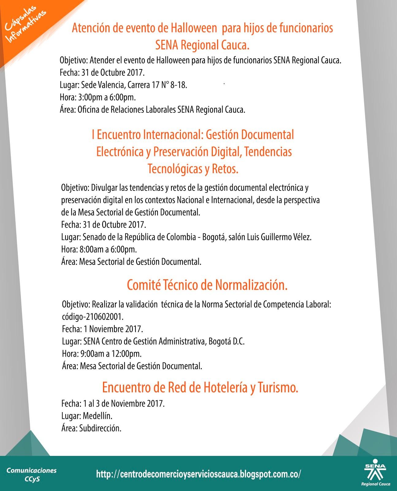 Centro de Comercio y Servicios SENA Regional Cauca: Capsulas ...