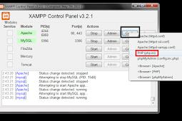 Cara Mengubah perbedaan tanggal dan jam sesuai timezone di xampp