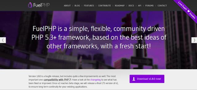 php,framework,fuelphp framework,php5,php7