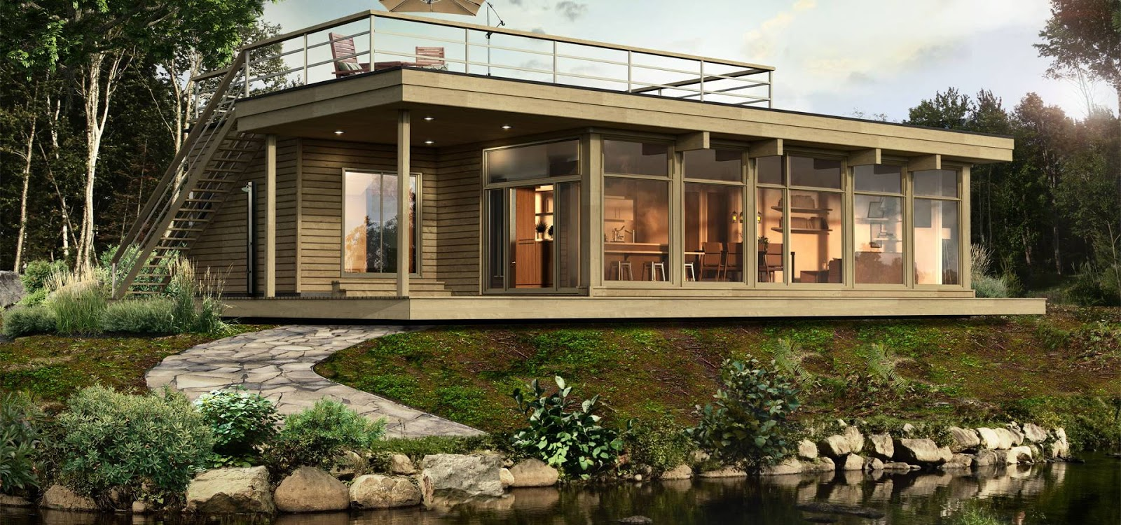 Prefab homes and modular homes in canada bonneville homes - How are modular homes built ...
