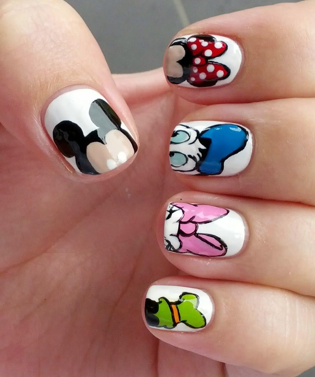 StephsNailss: Disney Inspired Nails