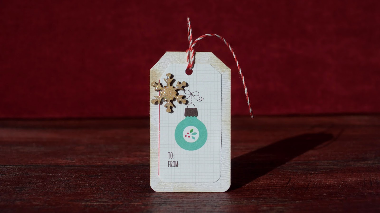 easy presents tags - using pattern paper - SSS kit november 2014