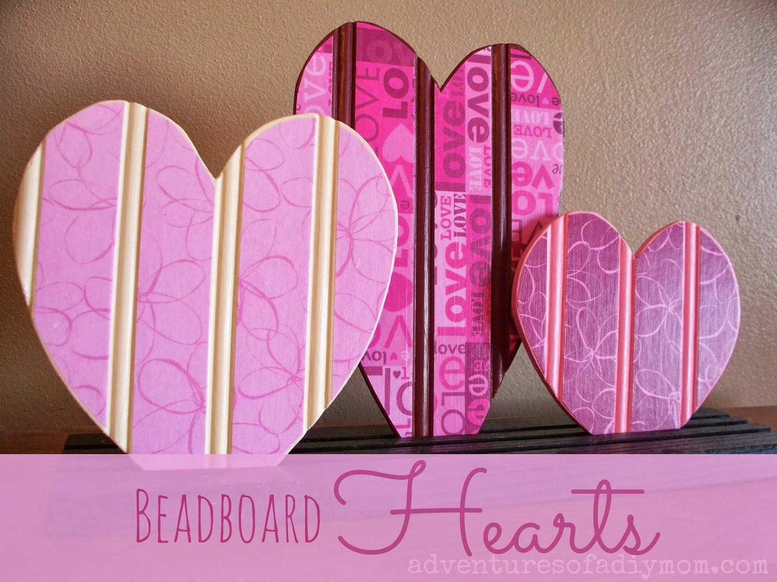 Beadboard hearts