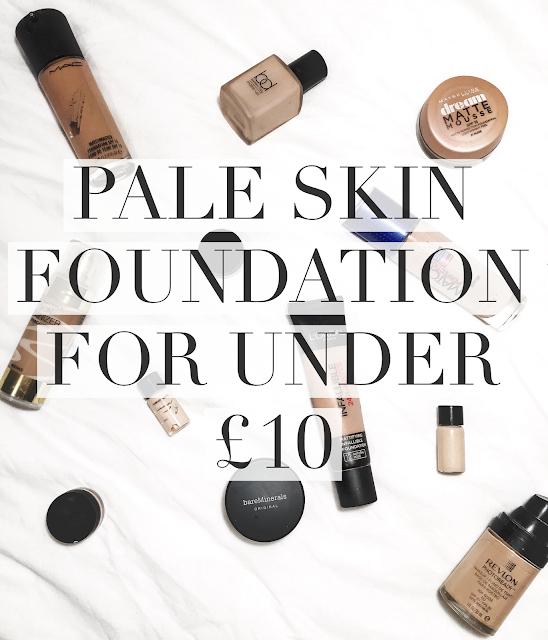 Beauty, foundation, make up, pale skin, blogger, max factor, rimmel, lasting finish, tilbury, estee lauder, loreal