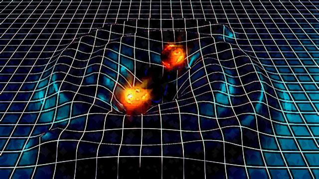 Resultado de imagem para ondas gravitacionais imagens