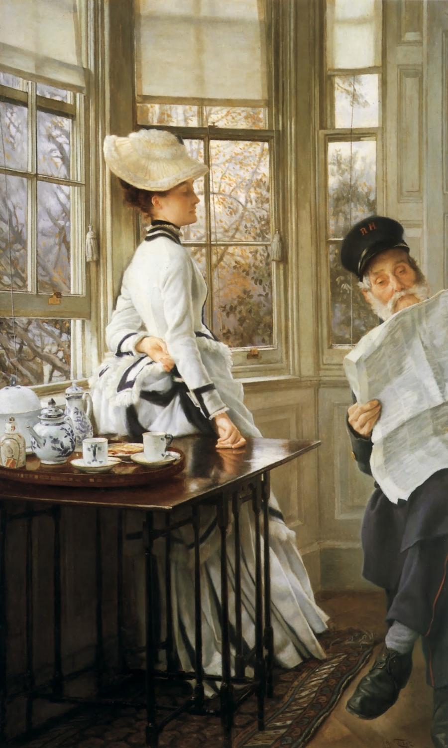 James Tissot     French Plein Air painter   Tutt'Art@ ()