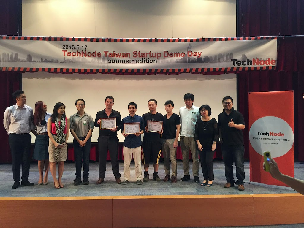 Technode Taiwan Demo Day 前三強出線,前進Techcrunch Shanghai大會