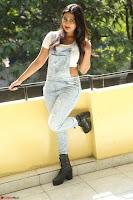 Neha Deshpande in Spicy Denim Jumpsuit and Whtie Crop Top March 2017 102.JPG