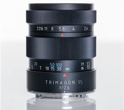 Портретный объектив Meyer-Optik Trimagon 95mm f/2.6