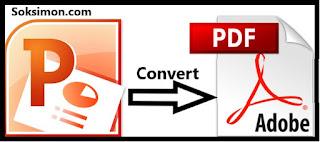 Cara Merubah PPT ke PDF Tanpa Aplikasi Kurang 1 Menit