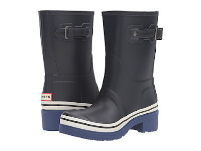 6PM - Hunter Original Ankle Boot Buoy Stripe $113 (reg $160)