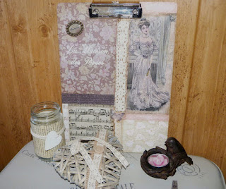 decorar-clipboard-estilo-vintage