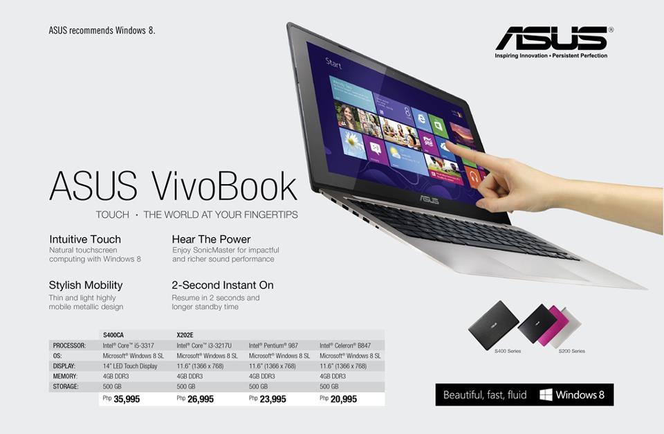 Asus Laptop Price In Philippines