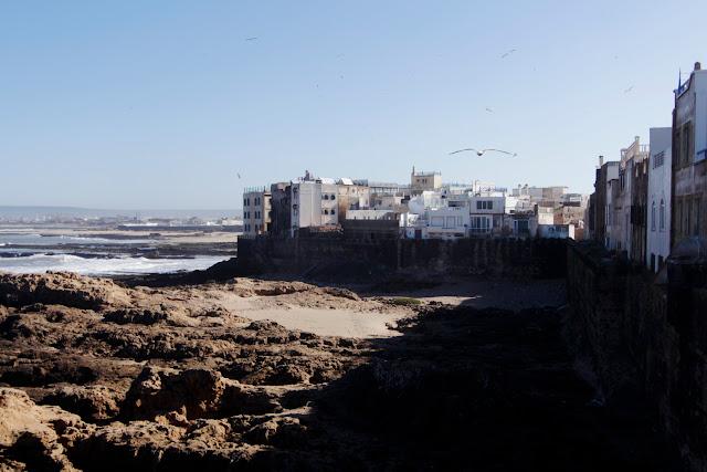 Vista de las casas desde la Skala de la Ville