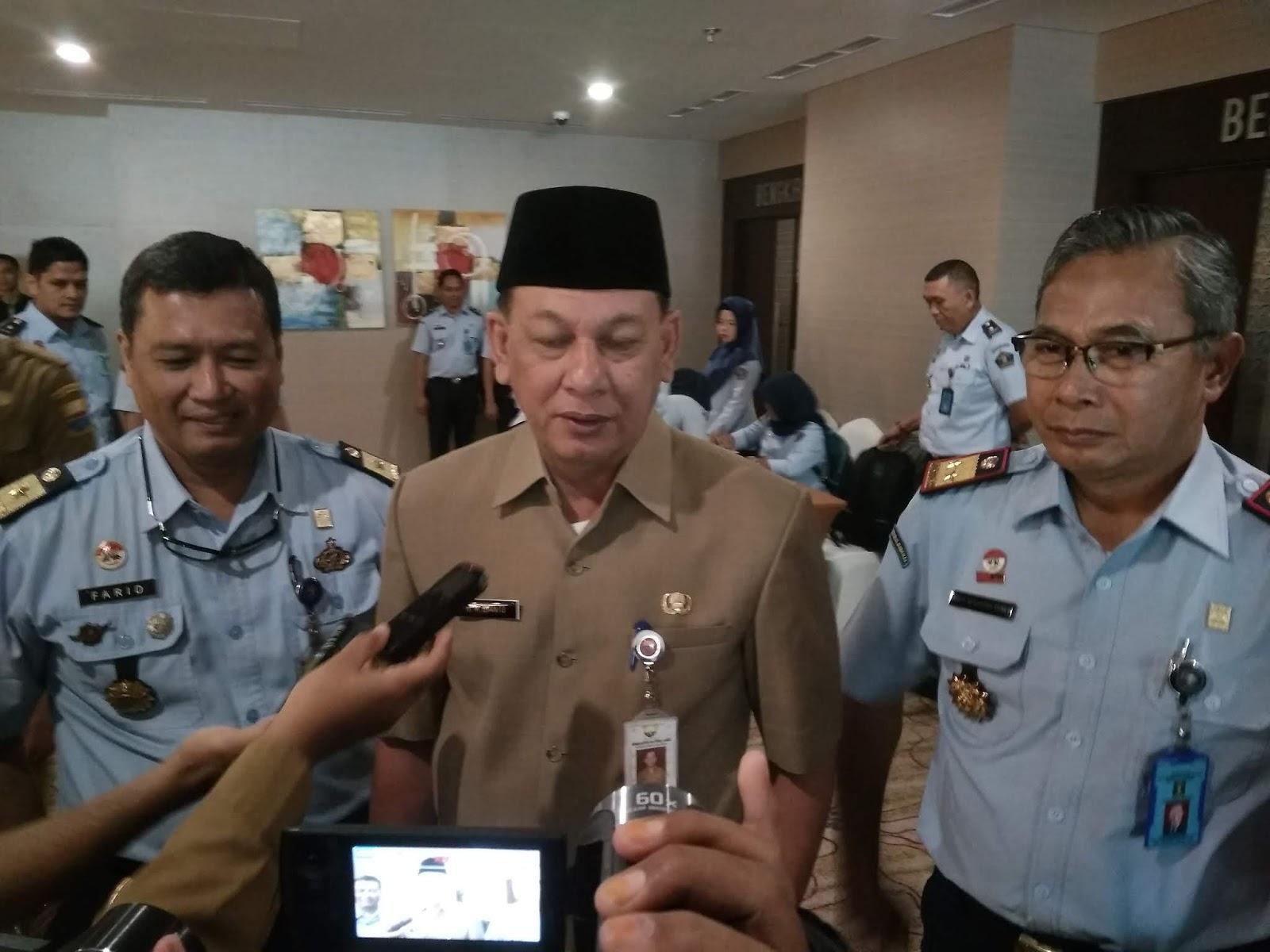 Sekda Provinsi Jambi Buka Rakor Dilkumjakpol Tahun 2019.