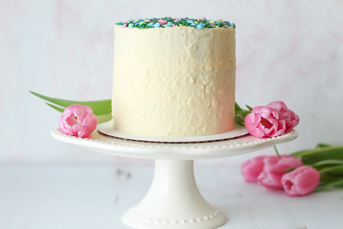 Traditional Carrot Cake with Ginger Cream Cheese Frosting