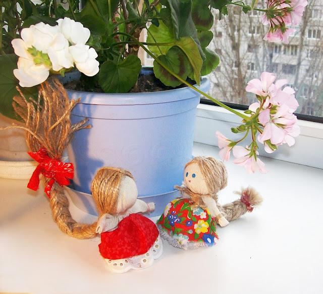 народная кукла на счастье мастер - класс от Насти