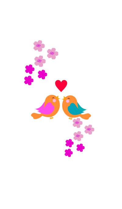 Love pretty birds