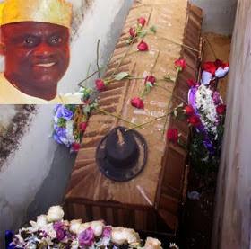 eniola badmus uncle burial