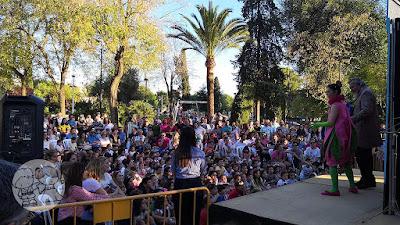 Obra de teatro infantil y títeres en el Parque de Consolación de Utrera, en la I Jornada #UtreraEnFamilia.